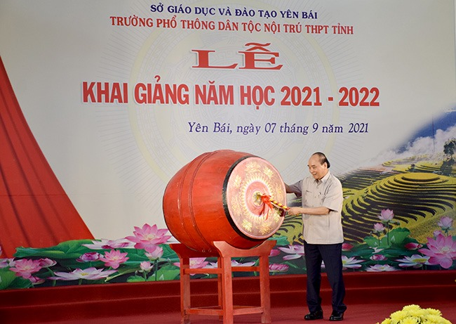 Chủ tịch nước Nguyễn Xuân Phúc đặc biệt ấn tượng về chỉ số hạnh phúc tỉnh Yên Bái - Ảnh 6.